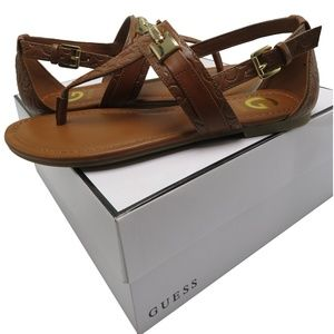 G by Guess LINKIN T-strap sandals